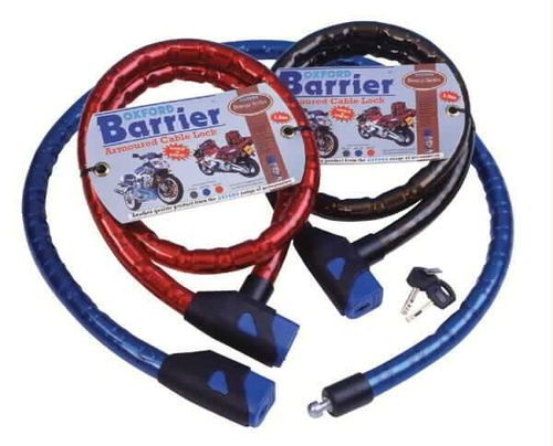 Oxford Barrier 1.5m armoured cable lock